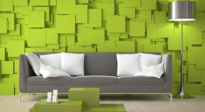 Üç Boyutlu (3D) Duvar Kağıdı Modelleri