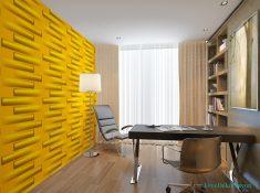 Sarı duvar kağıdı modelleri