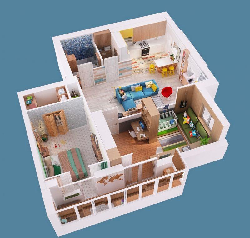 80 m² Ev Planı Yapmak