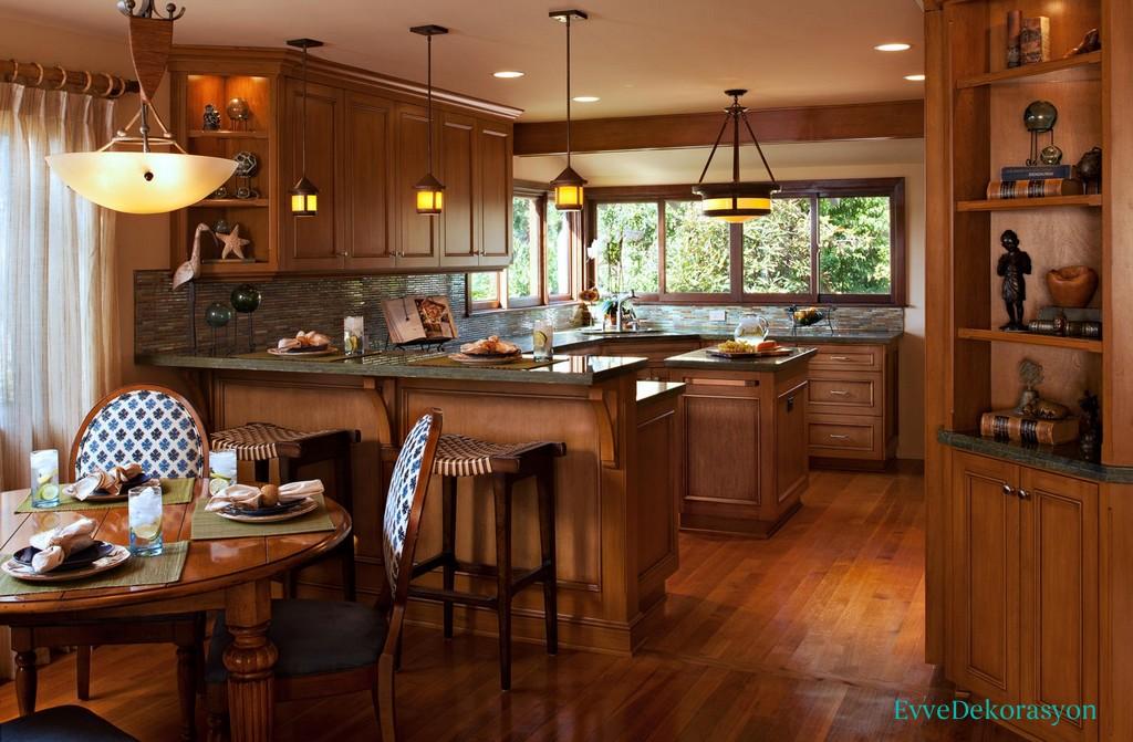 Mutfak dizayn şekilleri