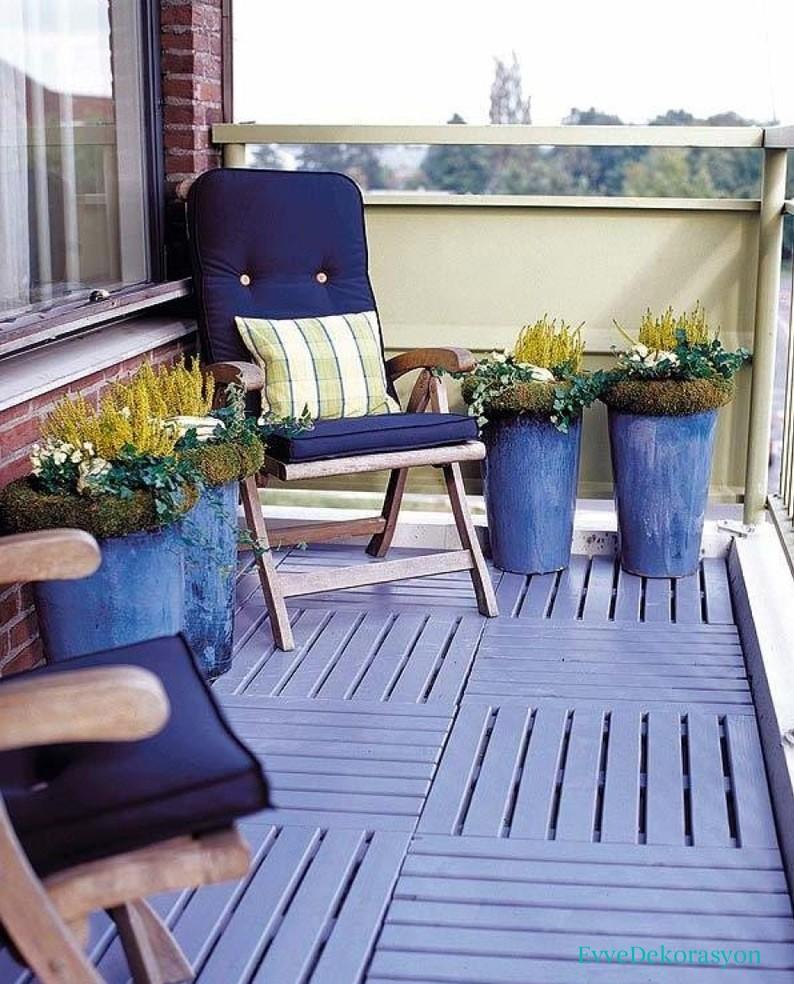 Balkon zemini