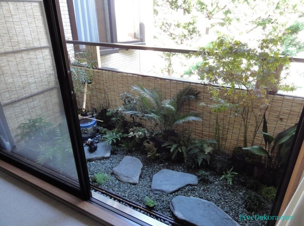 Balkonda bahçe fikirleri
