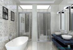 Banyo 3d duvarlar