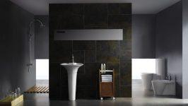 Modern Tuvalet ve Banyo Dekorasyonu