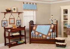 Erkek bebekler için oda stilleri