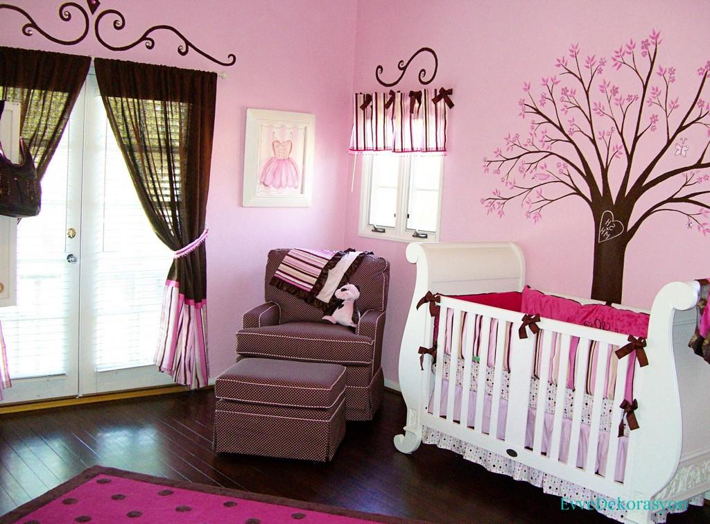 Pembe bebek odası stili