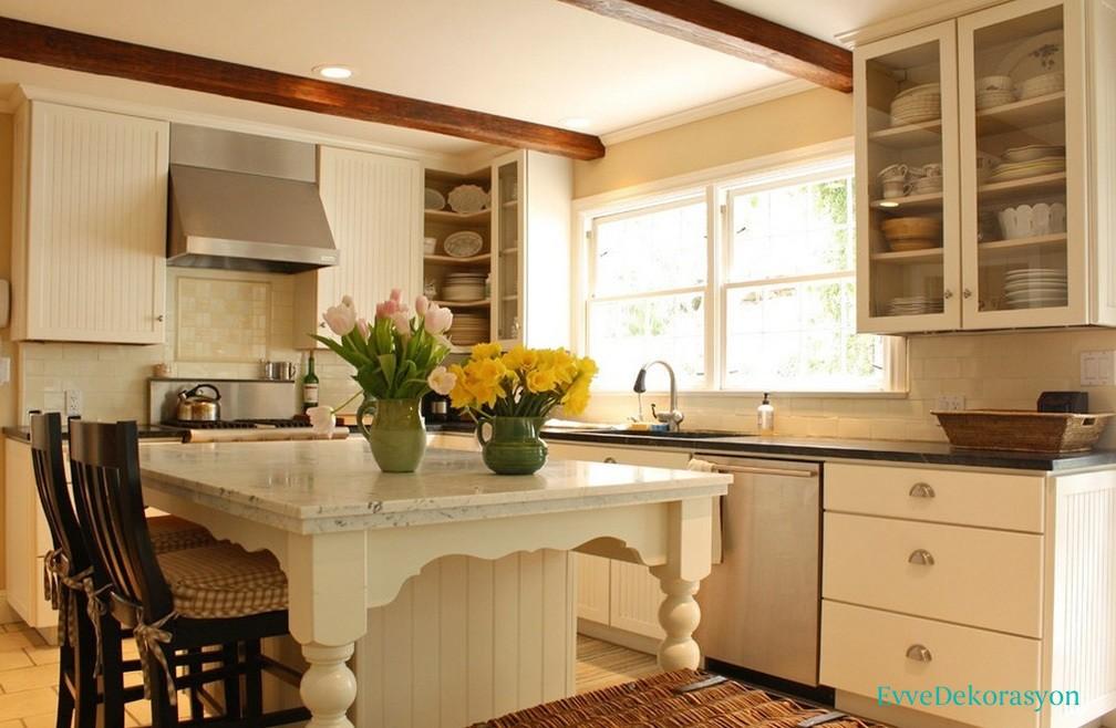 Beyaz renk mutfak tercihi