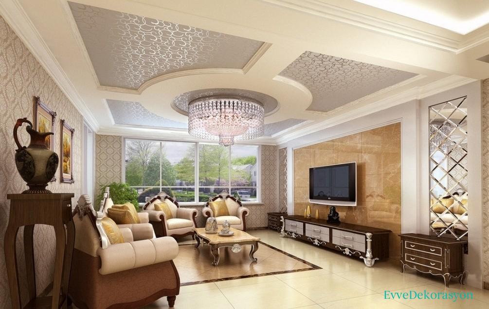 Beyaz tavan modelleri