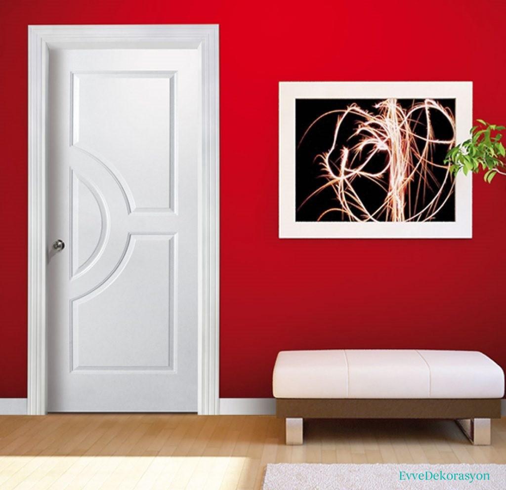 Ev iç kapıları ile dekorasyon