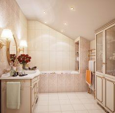 Beyaz banyo küçük alanlarda nasıl dekore edilir?