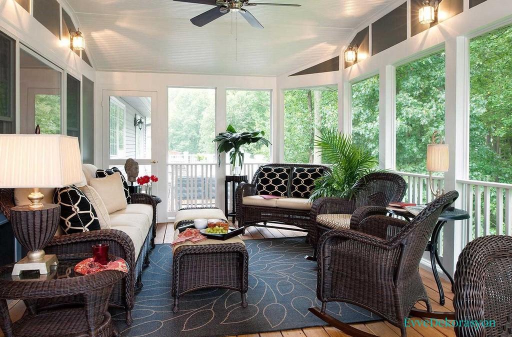 Cam balkon mobilyaları