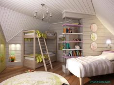 Çatı genç odası