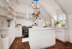 Çatı mutfak stilleri