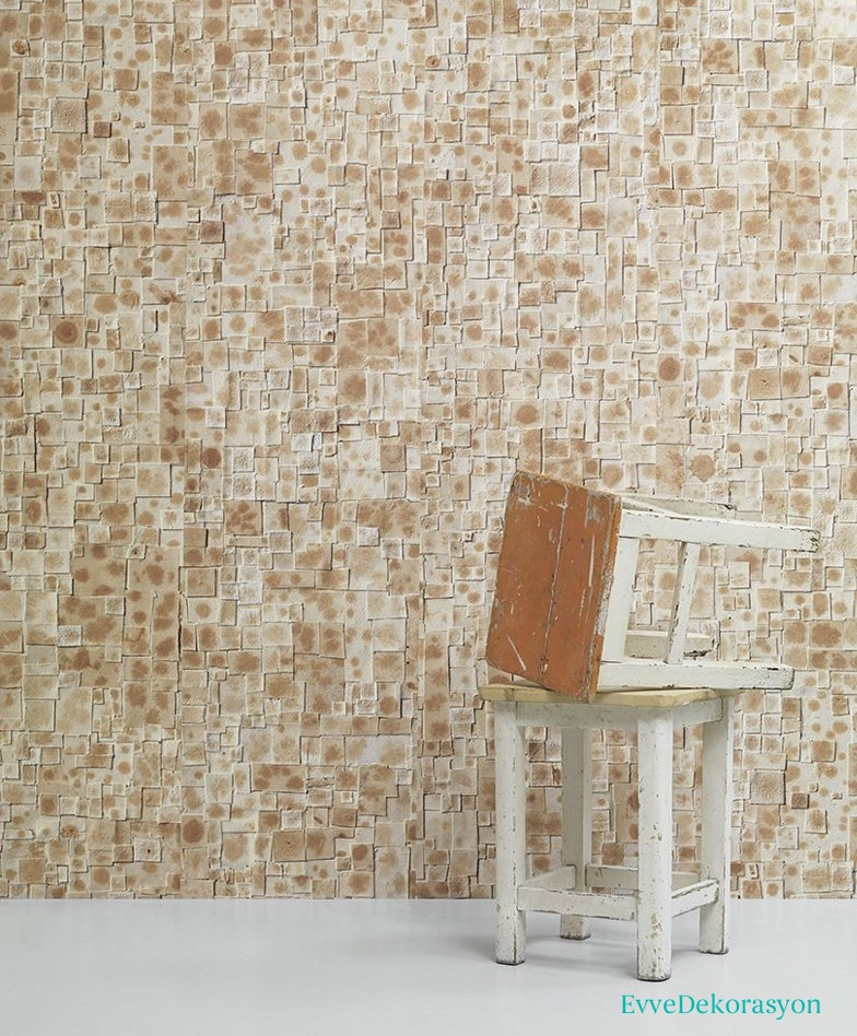 Küçük Taş desenli duvar kağıdı