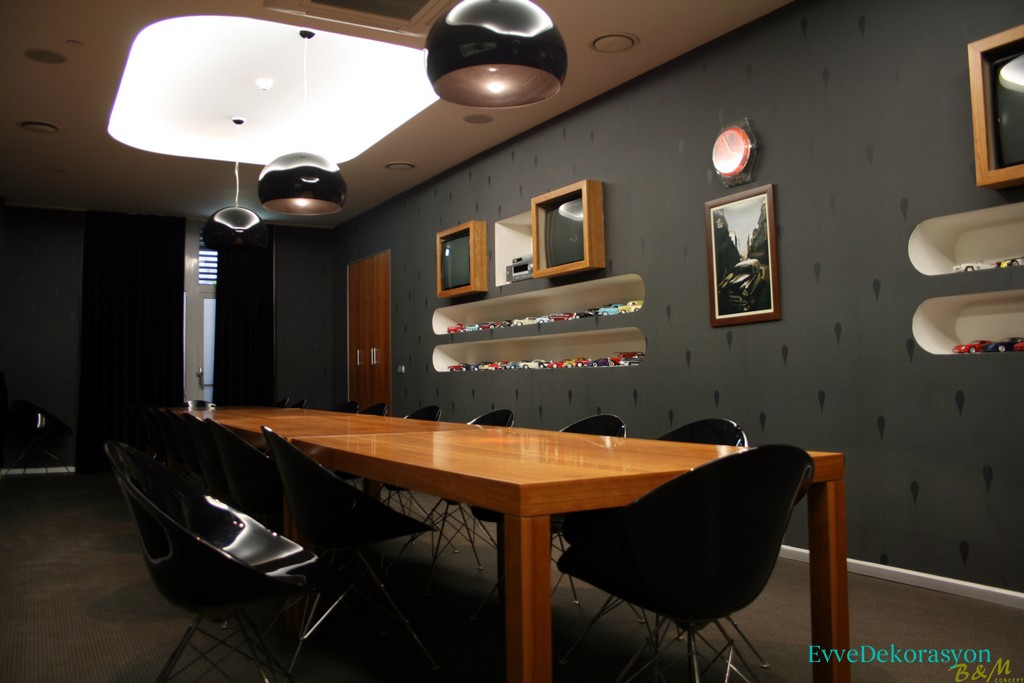 Siyah Duvar Dekorasyonu Stilleri