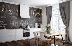 Canlı ve modern yemek odası