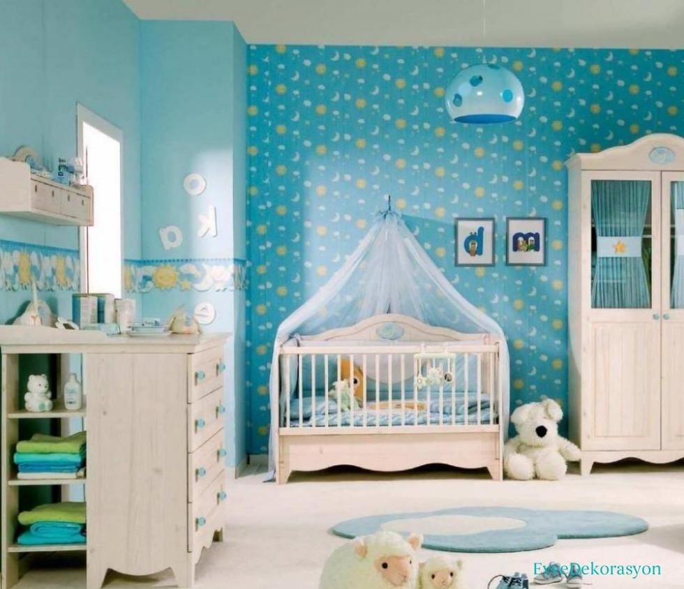 Bebek odası duvarları