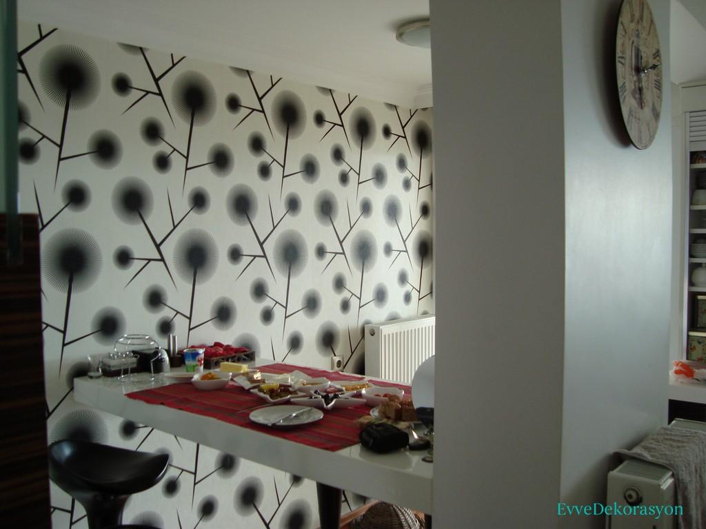Modern Tasarım Mutfak Duvarları