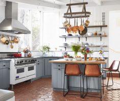 Geniş Mutfak Dizaynı