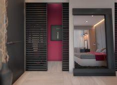 Yatak odası oda bölmesi tasarımı