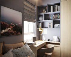 Yatak odasında çalışma odası