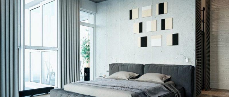 Gri Yatak Odası İle Eşisiz Bir Tasarım