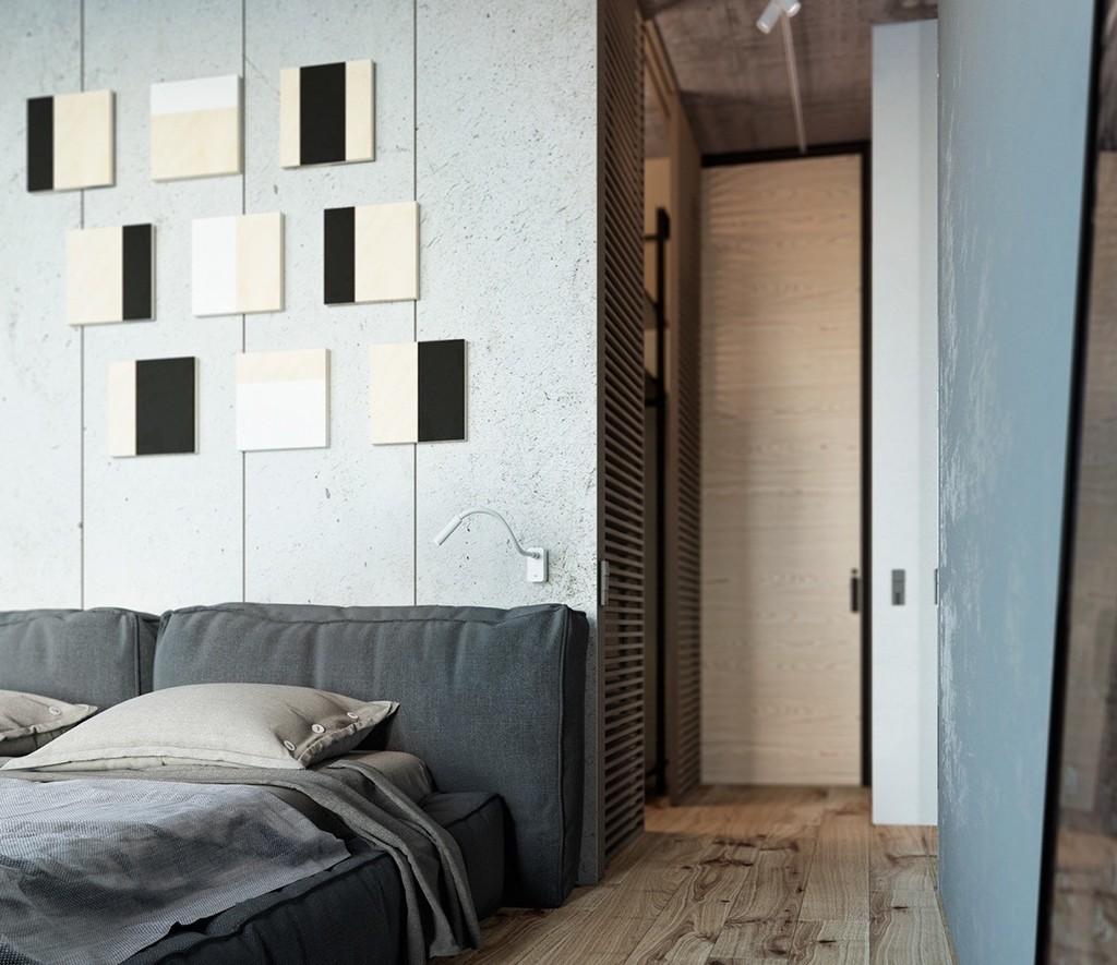 Yatak odası dekoratif aynalar