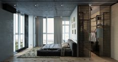 Geniş alan yatak odası
