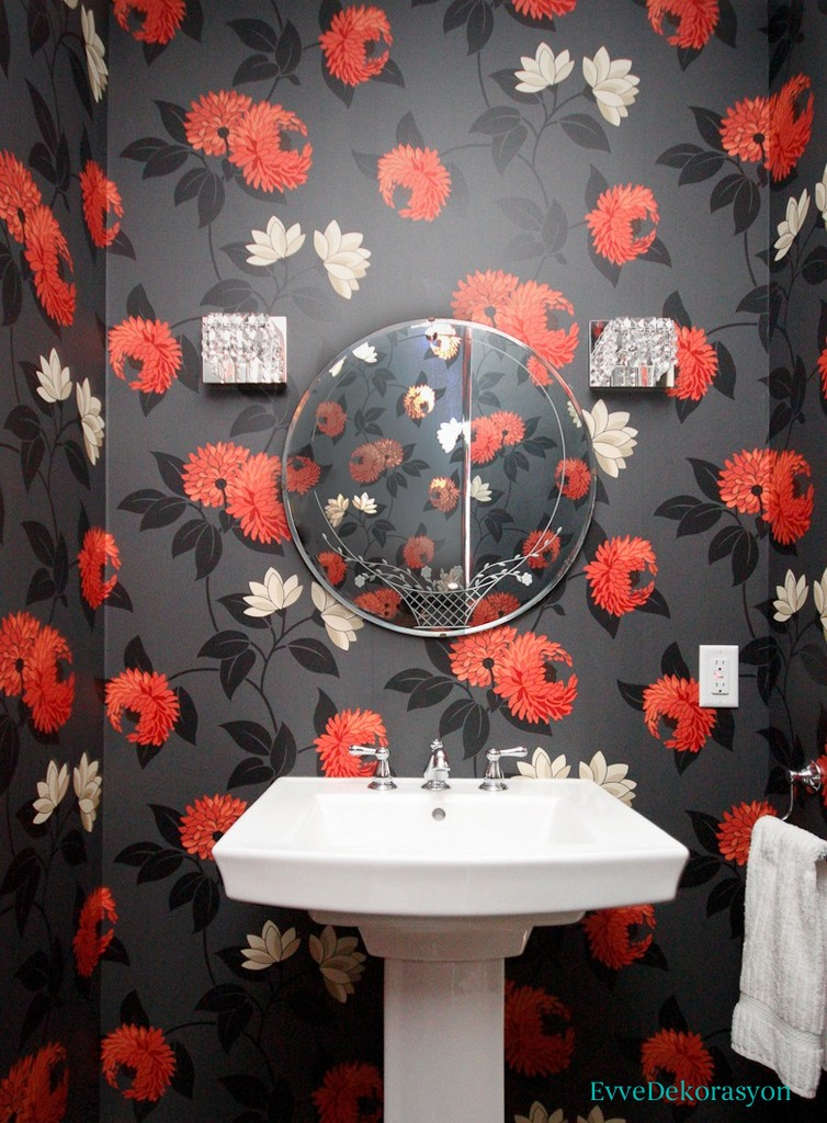 Gri banyo dekorasyou