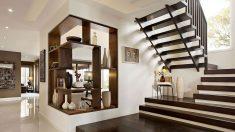 Modern ev içi merdiven tasarımları