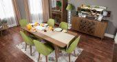 Evlerin Göz Bebeği Yemek Odası Takımı Modelleri