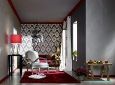 Klasik motifli duvar kağıdı