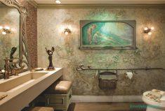 Klasik tuvalet dekorasyonu