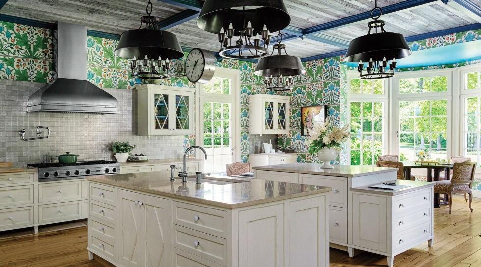 Klasik Beyaz Mutfak Modelleri