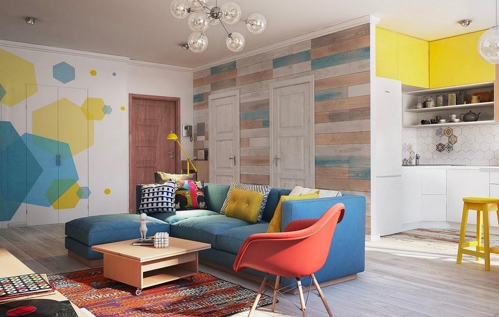 Küçük Evlerde Oturma Odası Dizaynı