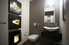Tuvalette küçük alanların kullanımı