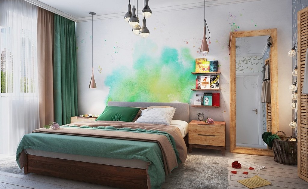 Küçük Yatak Odası için Çözümler