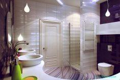 Lüx ve modern tuvalet