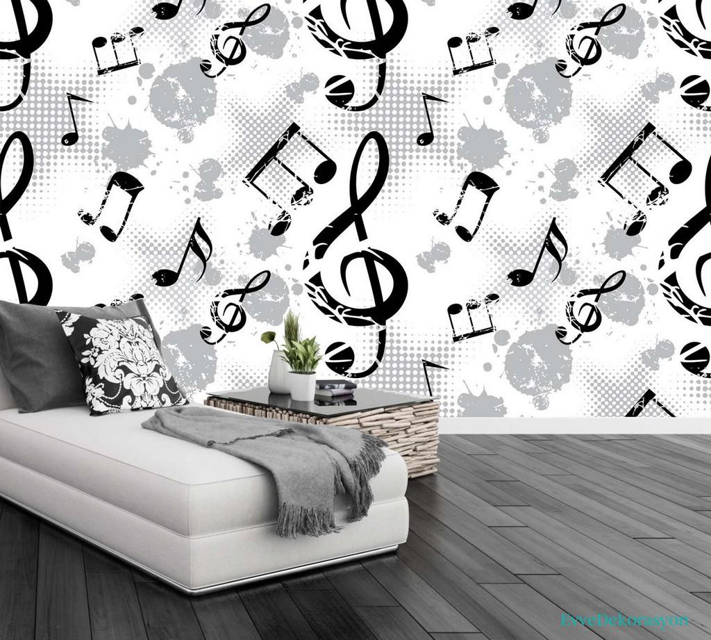 Duvarlarda Melodi Desenleri