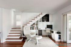 Merdiven altı ofis modeli