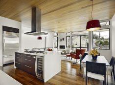 Modern mutfak salon tasarımı