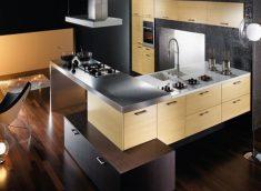Modern Ada Mutfak Dekorasyonu