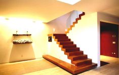 Modern ahşap merdiven dekorasyon tasarımları
