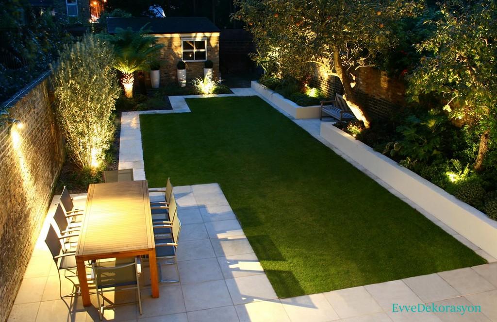 Son moda bahçeler