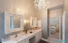 Beyaz modern banyo