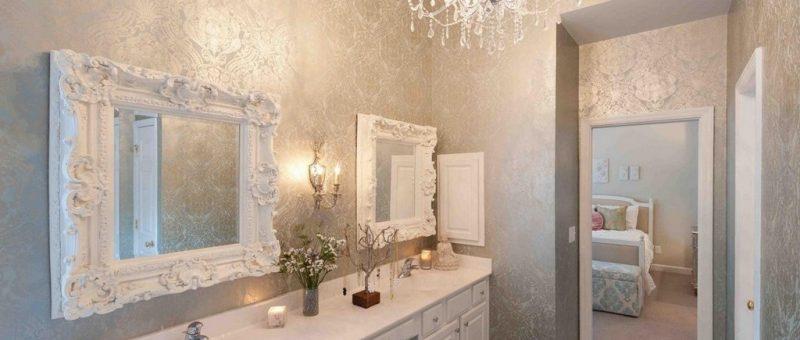 Banyolarda Duvar Kağıdı Modası