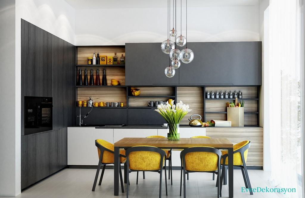 Mutfaklarda renk seçimi