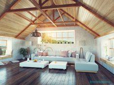 Sade çatı stili