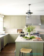 2017 yeşil mutfak modeli