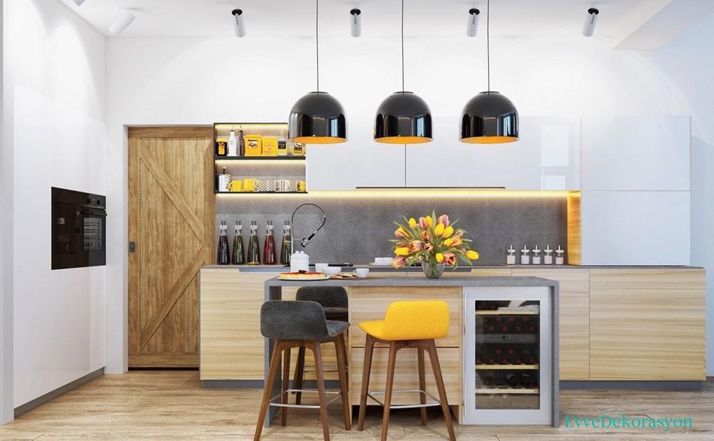 Mutfaklarda aydınlatma teknikleri
